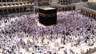 preview picture of video 'Adzan in Masjid Al-Haram, Mecca, Saudi Arabia'