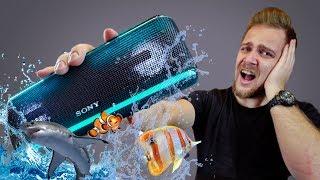 Эта колонка работает даже в морской воде! Sony XB41