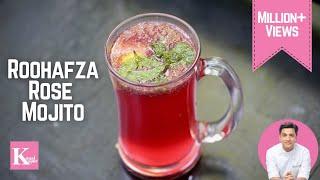RoohAfza Lemon Drink   Rose Mojito Kunal Kapur Recipes   Rooh Afza Summer Drink   Eid Iftar Sherbet