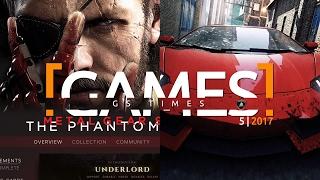 GS Times [GAMES] 5 (2017). Редизайн Steam, GTR 3, Need For Speed