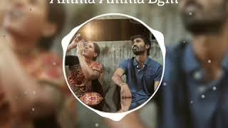 Amma Amma Bgm 💘  VIP 👦 Dhanush 😎 Amala Paul 💕 Anirudh 🎶 Whatsapp Status 🎼
