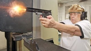 'Shotgun' Shirley recently applied for her concealed weapons permit