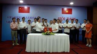 Lào Cai hội đàm thống nhất phương án kè sông biên giới với Trung Quốc