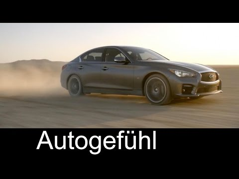 Infiniti Q50 interviews 2.0 turbo, multimedia system review and steer-by-wire assistant explanation