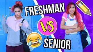 Freshman You VS Senior You!! Back To School!!