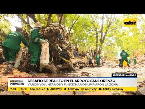 Desafío se realizó en arroyo San Lorenzo