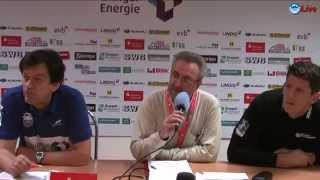 preview picture of video 'Pressekonferenz - ThSV Eisenach vs. TV Emsdetten 38:27 (19:11)'