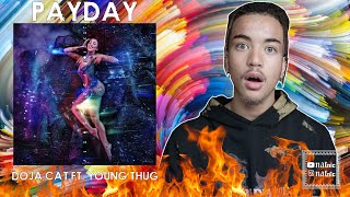 DOJA CAT - PAYDAY FT. YOUNG THUG REACTION/REVIEW