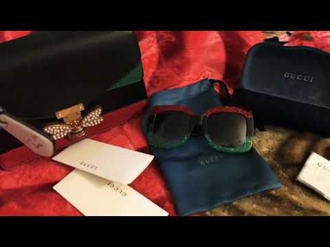 DHGATE GUCCI SHADES AND PURSE