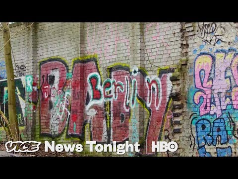 This Hidden 300 Foot Stretch Of The Berlin Wall Is Still Standing (HBO)