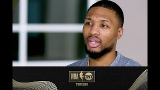 Damian Lillard Discusses His Comments About the Clippers and Portland's Playoff Hopes | NBA on TNT