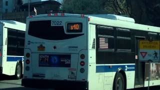 preview picture of video 'NYCTA:St.George Ferry Terminal Bus Action'