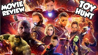 AVENGERS INFINITY WAR Movie Review + Toy Hunt At Disneyland & Black Panther Marvel Experience