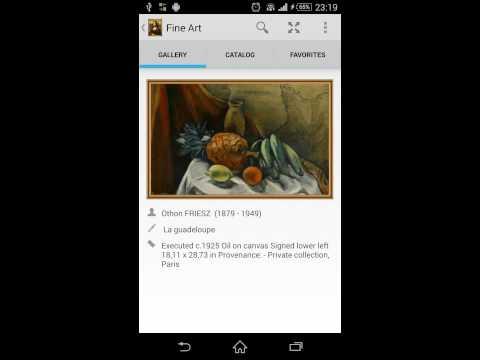 Video of Fine Art widget