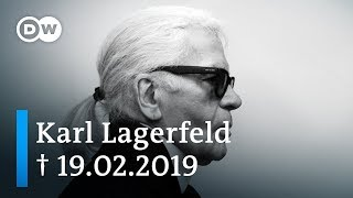 Karl Lagerfeld - German fashion designer and icon | DW Documentary