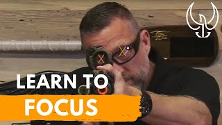 How to Shoot a Gun Accurately - Front Sight Focus