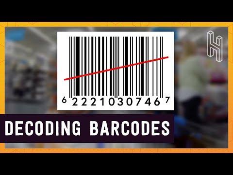 Jak fungují čárové kódy?