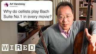 Yo-Yo Ma Answers Cello Questions From Twitter | Tech Support | WIRED