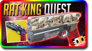 "Destiny 2 - How To Get The ""Rat King"" & Easy Nightfall (Destiny 2 ""Rat King"" Exotic Sidearm)"