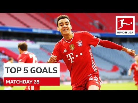 Top 5 Goals • Musiala Reus Jovic & More