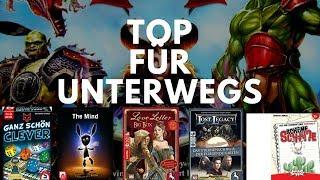 BRETTSPIELE FÜR UNTERWEGS - UNSERE TOP SPIELE | Brettspiel Geeks | Brettspiele