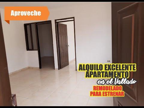 Apartamentos, Alquiler, El Vallado - $400.000