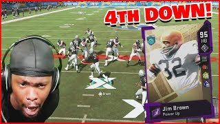 Jim Brown Activates WRECKING BALL With The Greatest Comeback On The Line! (Madden 20 Ultimate Team)
