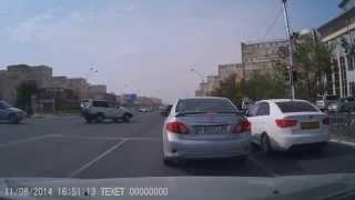 Актау беспредел на дорогах