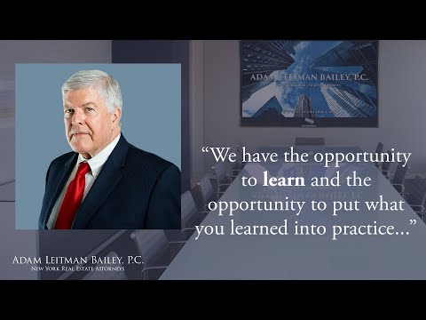 """What it takes to be successful at Adam Leitman Bailey, P.C."" testimonial video thumbnail"