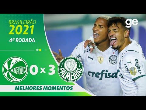 Vídeo / Juventude 0 x 3 Palmeiras - Brasileirão 2021!