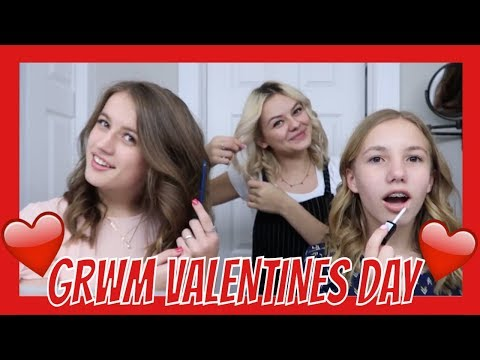 GRWM VALENTINES DAY | THE LEROYS