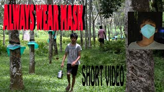 A 30 SEC AWARENESS VIDEO OF WEARING MASK AND ITS BEHIND THE SCENE #COVID19 #PHOTOKIRUK #VINEVIDEOS - THE