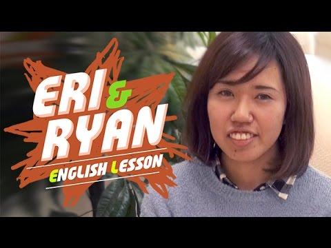 英会話 Eri & Ryan English Lesson Ep1 - フィリピン留学サポーターが教える英会話!始めの挨拶の英語表現から練習してみましょう!