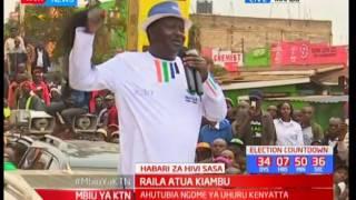 Raila atua Kiambu, Mbiu ya KTN