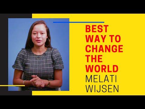The Best Way To CHANGE THE WORLD - Melati Wijsen Speech 2020