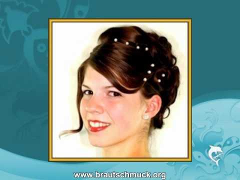 Brautschmuck.org   Haarschmuck   Curlies Perlen Strass