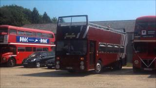 preview picture of video 'Great Yeldham Bus rally 18/5/14 Video and gallery'