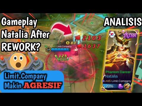 Analisis Gameplay Natalia Limit Company After Rework? - Top Natalia Penculik Terbaik | Mnrt Kalian?