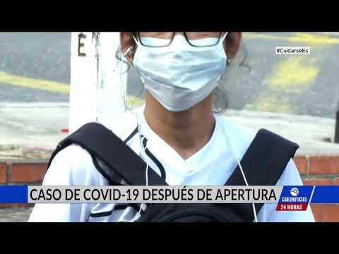 Primer caso de Covid-19 en municipio que reabrió su economía hace una semana