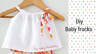 Latest And New Easy Summer Baby Frocks Design Easy To Make At Home Latest Frock Design