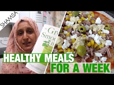 Video HEALTHY MEALS FOR A WEEK (7 DAYS) | LOSE WEIGHT | Shamsa