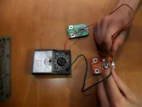 Как проверить плато усилителя антенны ДМВ.