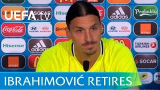 Zlatan Ibrahimović to retire from international football