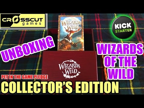 Kickstarter Unboxing - Wizards of the Wild (COLLECTOR'S EDITION)