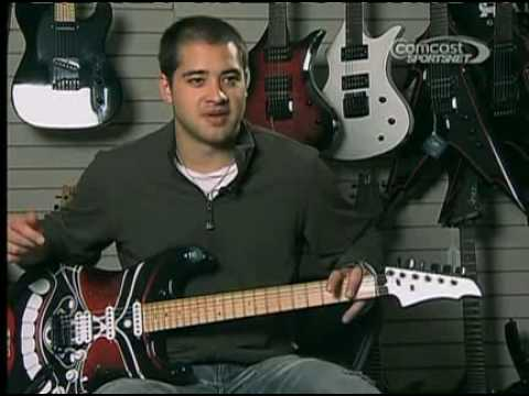 SharkByte Video - Devin Setoguchi - Halo Custom Guitars.avi