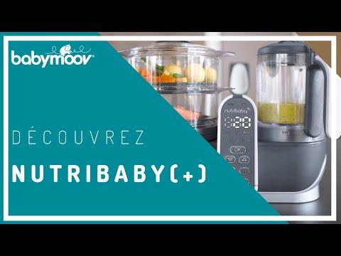 Új! Nutribaby babymoov plus pároló pürésítő robotgép turmix baba bébiétel garancia