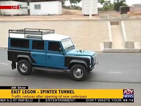 East Legon – Spintex Tunnel- AM Show on JoyNews (25-4-18)