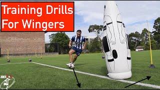 GREAT TRAINING DRILLS FOR WINGERS & ATTACKING MIDFIELDERS | Joner 1on1 Football Training