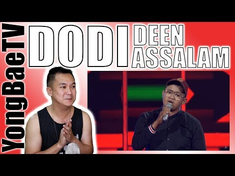 , title : 'Dodi - Deen Assalam | Blind Auditions | The Voice Indonesia GTV 2018 | Reaction | YongBaeTV'
