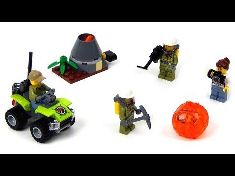 Vidéo LEGO City 60120 : Ensemble de démarrage du volcan